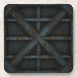 Rusty Container - Black - Coaster