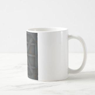 Rusty Container - Black - Coffee Mug