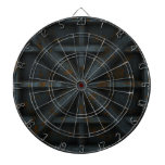 Rusty Container - Black - Dartboard With Darts