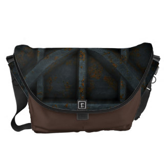 Rusty Container - Black - Messenger Bags