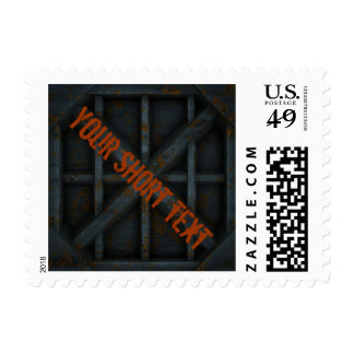 Rusty Container - black - Stamps