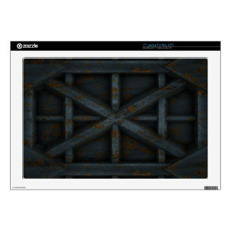 Rusty Container - Black - Laptop Skin