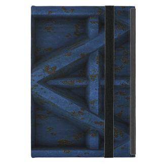 Rusty Container - Blue - Cover For iPad Mini