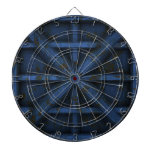 Rusty Container - Blue - Dartboard