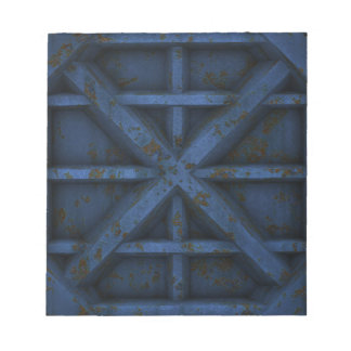 Rusty Container - Blue - Note Pad
