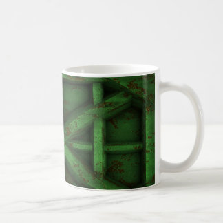 Rusty Container - Green - Coffee Mug
