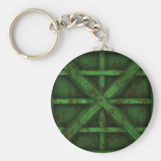 Rusty Container - Green - Keychain