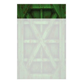 Rusty Container - Green - Stationery
