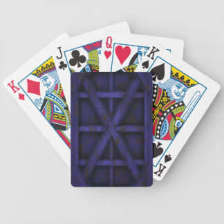 Rusty Container - Purple - Bicycle Playing Cards