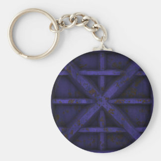Rusty Container - Purple - Keychain