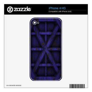 Rusty Container - Purple - Skin For The iPhone 4S