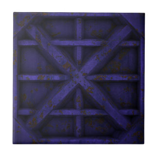 Rusty Container - Purple - Tile