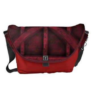 Rusty Container - Red - Messenger Bag