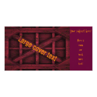 Rusty Container - Red - Picture Card