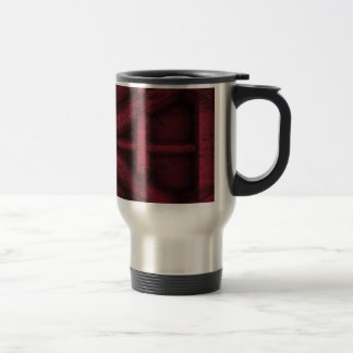 Rusty Container - Red - Travel Mug