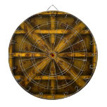 Rusty Container - Yellow - Dart Board