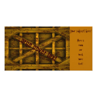 Rusty Container - Yellow - Picture Card