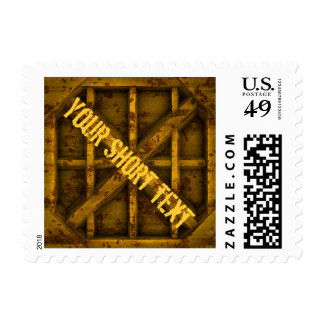 Rusty Container - yellow - Stamp