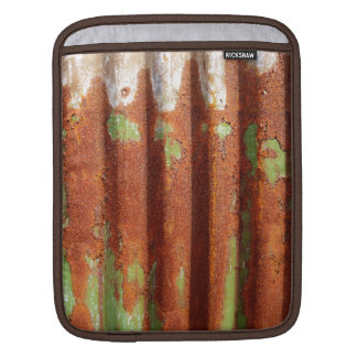 Rusty Corrugated Metal Sleeve For iPads