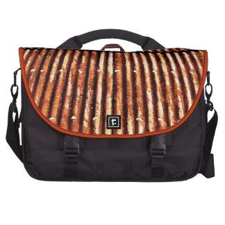 Rusty Corrugated Tin Roof Laptop Bag