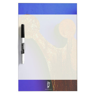 Rusty crown dry erase board