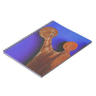 Rusty crown notebook