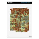 Rusty Decals For iPad 3