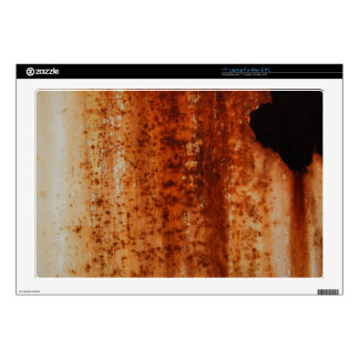 Rusty distressed artistic grunge background decals for laptops