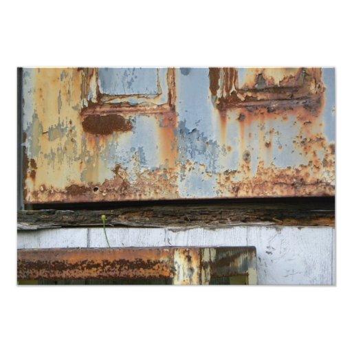 Rusty Door Photo Print