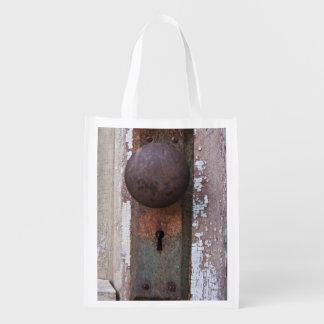 Rusty Doorknob Grocery Bag
