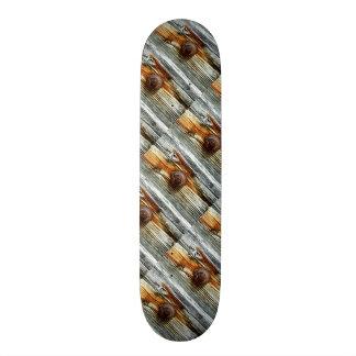 rusty driftwood boards Thunder_Cove Skateboard
