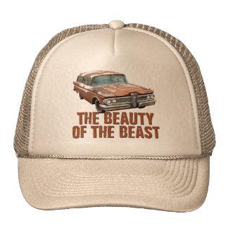 Rusty Edsel station wagon Trucker Hat