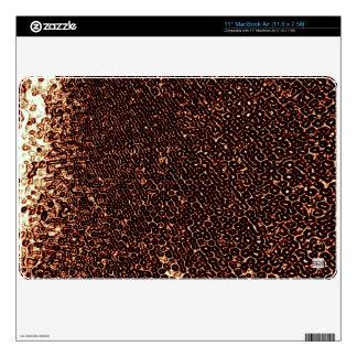Rusty Emboss MacBook Air Skin
