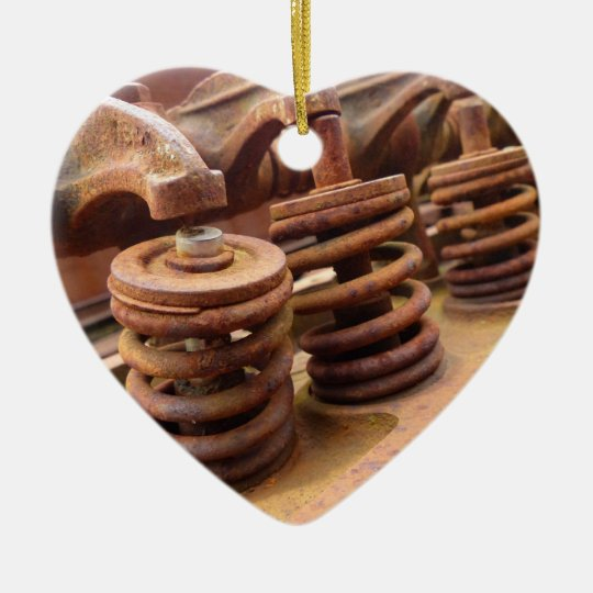 Rusty Engine Block Ceramic Ornament | Zazzle.com