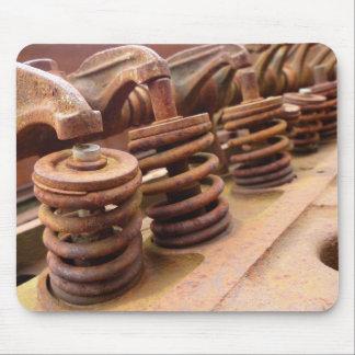 Rusty Engine Block Mouse Pad