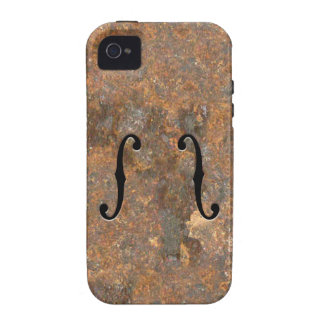 Rusty F-Holes Vibe iPhone 4 Cases