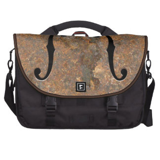 Rusty F-Holes Bags For Laptop