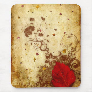 Rusty Fall Mouse Pad