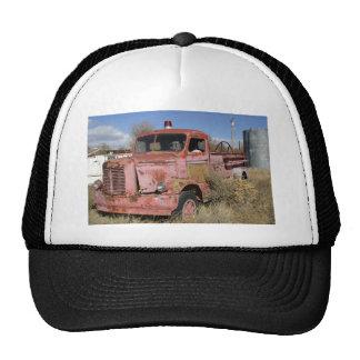 Rusty Fire Truck Trucker Hat