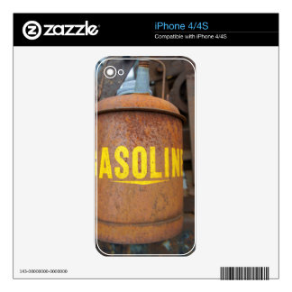 Rusty Gas Can Skins For The iPhone 4S
