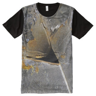 Rusty Gashed Steel All-Over-Print T-Shirt