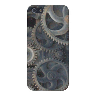 Rusty Gears Cover For iPhone SE/5/5s
