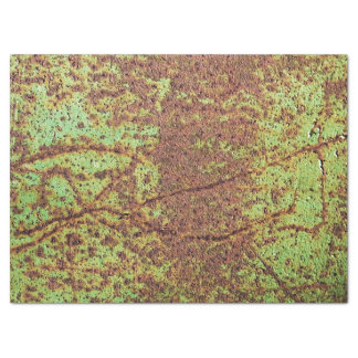 "Rusty green look 17"" x 23"" tissue paper"