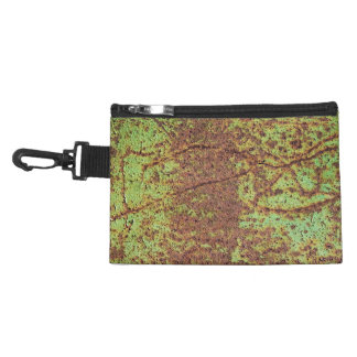 Rusty green look accessories bag