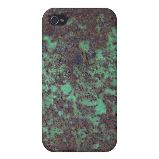 Rusty Green Metal Photo Texture iPhone 4/4S Case
