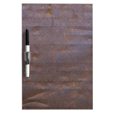 Rusty Iron Texture Background Dry-Erase Board