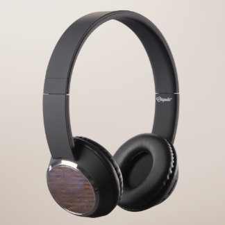 Rusty Iron Texture Background Headphones