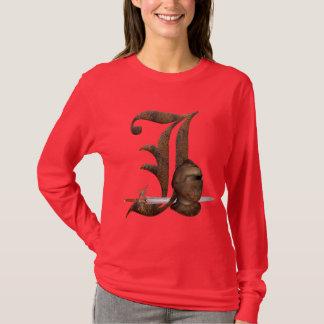 Rusty Knights Initial J T-Shirt