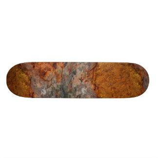 Rusty look skateboard