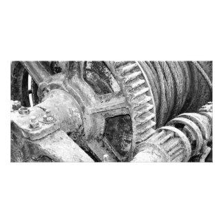 Rusty machinery card